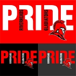 RHS Riverheads Gladiators PRIDE logo apparel