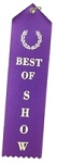 Best of Show Ribbon 2x8