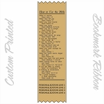 CUSTOM PRINTED How To Use The Bible Satin Ribbon Bookmark 2