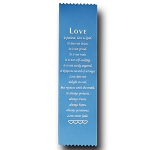 Love Satin Ribbon Bookmark 2