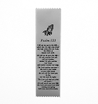 Psalm 121 Satin Ribbon Bookmark 2