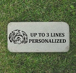 Shih Tzu Pet Memorial Headstone 6x12