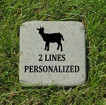 Goat Memorial Bluestone 6x6