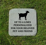 Goat Memorial Bluestone 12x12