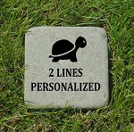 Turtle Memorial Bluestone 6x6