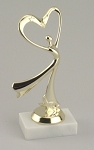 Modern Dance Award Trophy