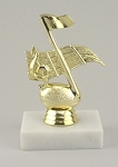 Music Award Trophy
