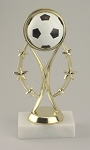 Soccer Color Sport Trophy
