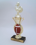 Turkey Bowl Trophy 10.5