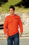VDOT Port Authority® - Essential Long Sleeve T-Shirt with Pocket  6 Available Colors