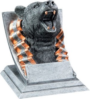 Bear Signature Series Mascot Award