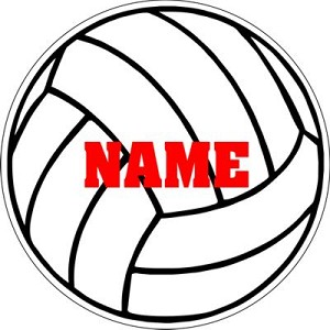 Volleyball Car Magnets Volleyball Vehicle Magnets And - Custom sport car magnetsvolleyball car magnet custom magnets for volleyball players