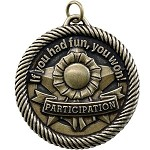 Participation Award Medal