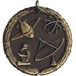 Science Award Medal  Includes Neck Ribbon & Engraving