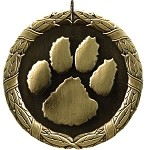 Paw Print Award Medal  Includes Neck Ribbon & Engraving