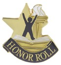 Honor Roll Academic Series Lapel Pin