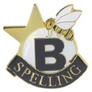 Spelling Academic Series Lapel Pin