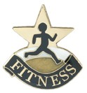 Fitness Academic Series Lapel Pin