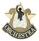 Orchestra Academic Series Lapel Pin