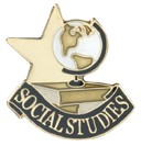 Social Studies Academic Series Lapel Pin