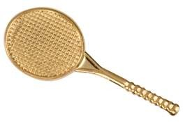 Tennis Raquet Lapel Pin