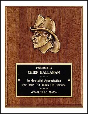 Firefighter Plaque 8x10