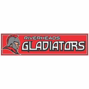 Riverheads Gladiators Full Color Decal 3x12