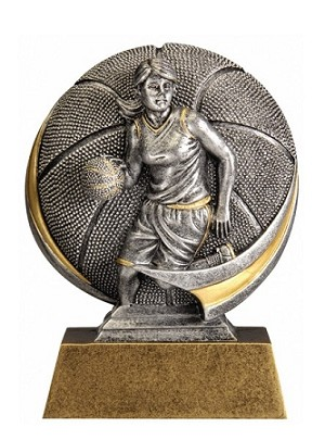 Basketball Female Motion Extreme Recognition Award