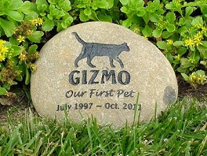 Memorial Stones For Cats And Cat Grave Markers